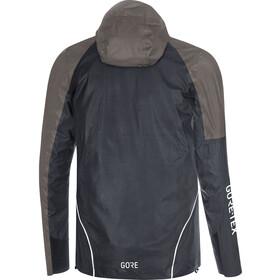 GORE WEAR R7 Gore-Tex Shakedry Trail Kurtka z kapturem Mężczyźni, black/lava grey